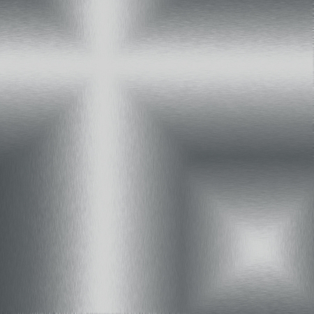 silver metal texture background with beams of light ans abstract shapes photo