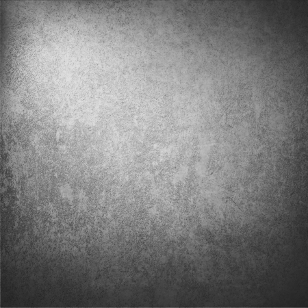 dark gray wall texture background with with abstract highlight and vignetted corners as vintage grunge background texture