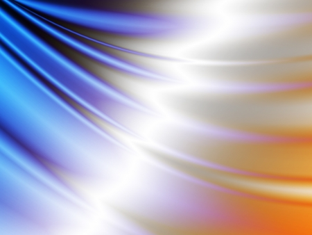 lighting effects: abstract background satin wave silk fabric texture Stock Photo