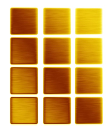 gold textures: gold metal textures background collection push buttons bars of gold