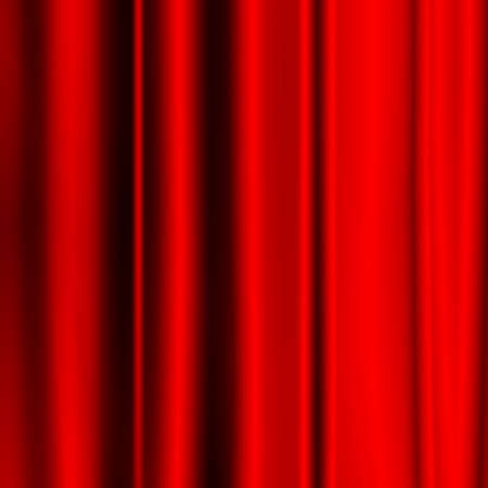red folded fabric texture background Stock Photo - 20953044
