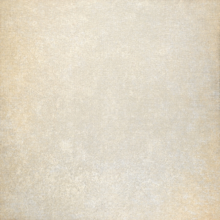 old paper background and beige fabric canvas texture with subtle stains photo