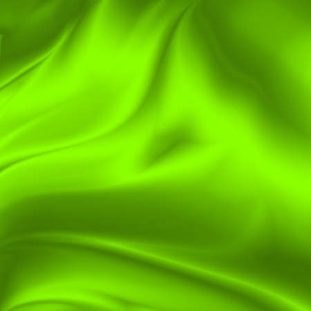 creased: green abstract background creased silk fabric texture