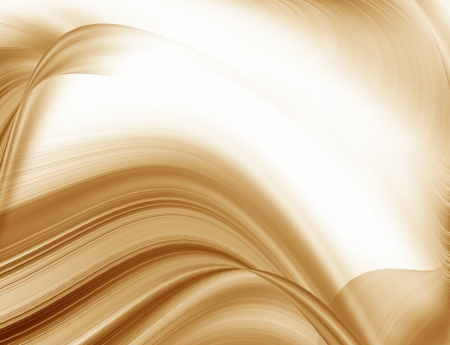 oblique: brown abstract background texture smooth wave pattern, may use to coffee advertising Stock Photo