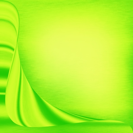 fluorescent: green easter background or greeting card template Stock Photo