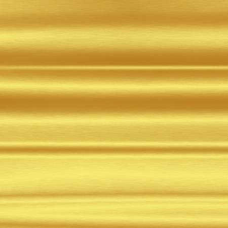 seamless metal: gold metal texture background with horizontal strips Stock Photo