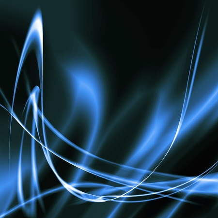 blue abstract background lighting effects modern shapes photo