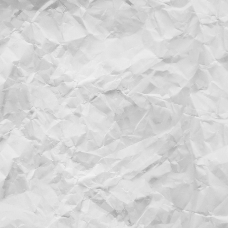 old white crumpled paper texture background photo