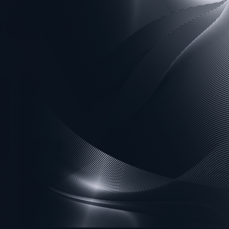 shiny metal background: black abstract background curved lines pattern texture
