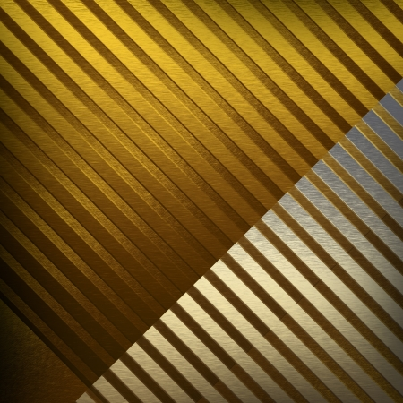 gold metal texture striped background photo