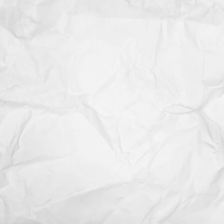 white paper background, creased paper texture Stock Photo - 18931434