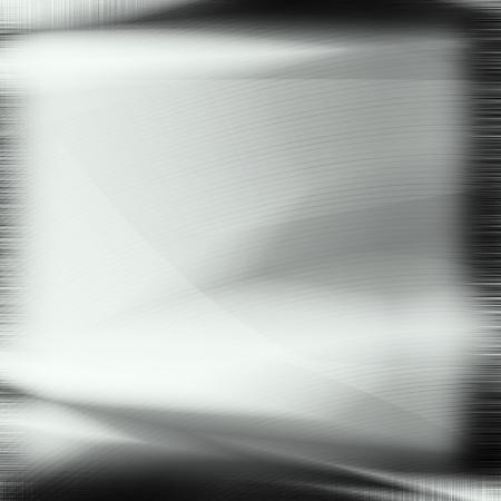 alluminum: silver metal texture,background black chrome frame Stock Photo