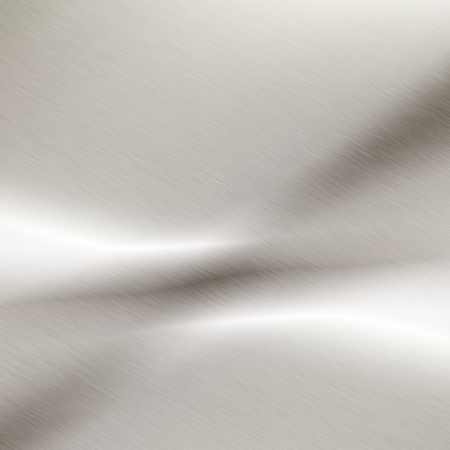 white background chrome metal texture photo
