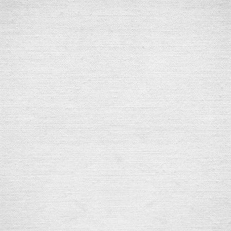白い背景のキャンバスや紙の紙のテクスチャ 写真素材