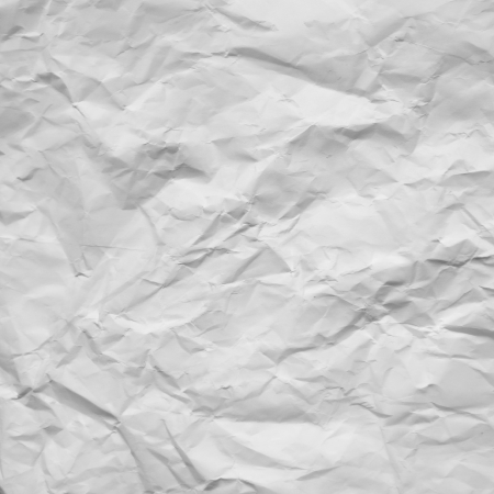crumpled paper texture: old white crumpled paper texture background