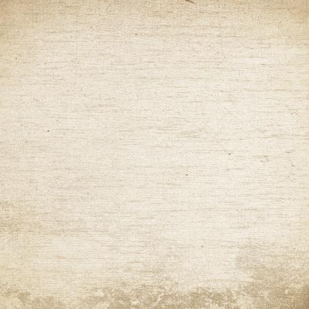 白グランジ背景キャンバスのテクスチャの麻織物