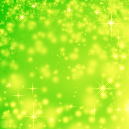 green abstract background for easter or greeting card design photo