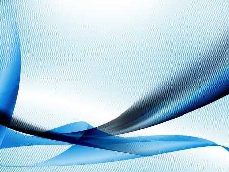 抽象的な背景が青で滑らかなモダンな生地