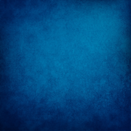 vignetted: blue background and vintage grunge texture