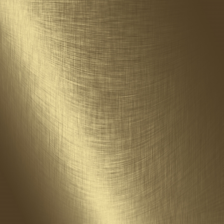streak plate: gold metal texture background with oblique line of light to decorative greeting card design Stock Photo