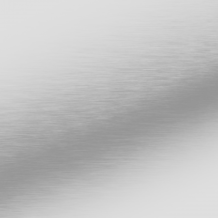 alluminum: silver metal background, chrome texture