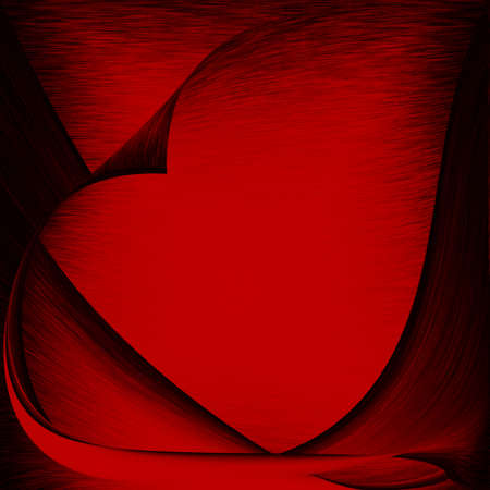 red abstract background and black graphic elements delicate canvas texture photo