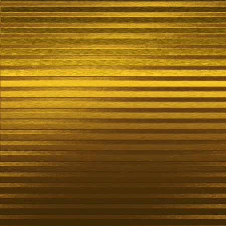 gold metal texture background and horizontal lines and spot light effect photo
