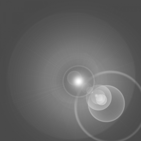 cosmology: grey abstract background, flare or beam of spot light effect