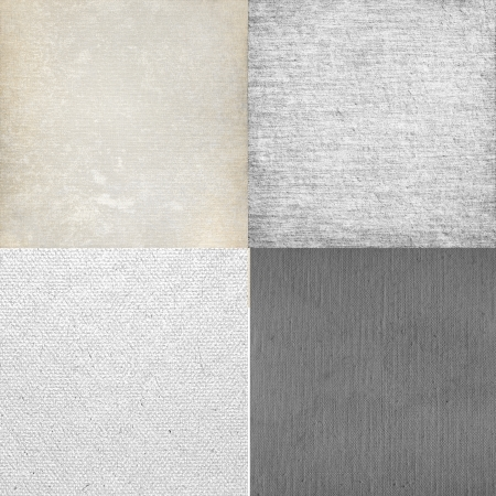 background canvas: white background canvas texture collection Stock Photo
