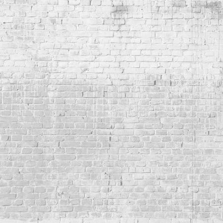白レンガの壁のテクスチャ グランジ背景 写真素材