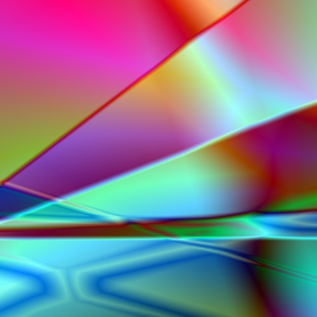 rainbow abstract background metalilc plates photo