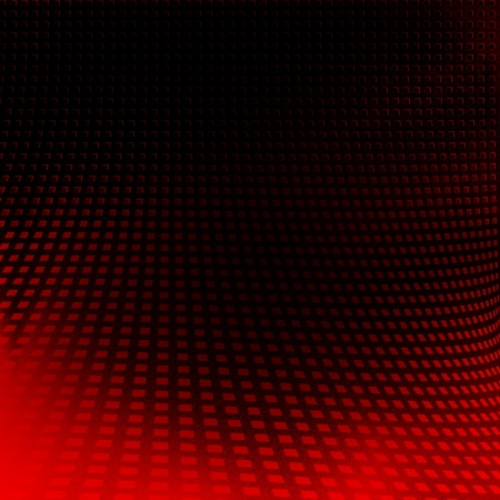 metalic texture: black background and red abstract texture grid pattern