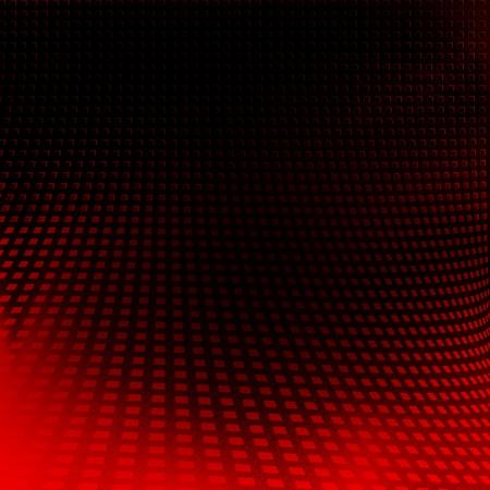 Fondo negro y el patrón abstracto rojo rejilla textura Foto de archivo - 24525218