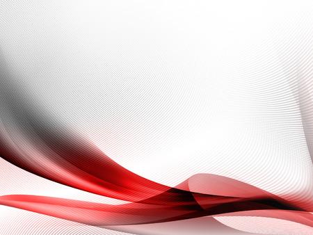 lineas onduladas: Fondo abstracto en blanco con rayas rojas y sutil rejilla patr�n de textura