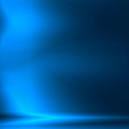 Abstrait bleu comme modèle de bannière carrée de la technologie ou le financement bancaire de la publicité moderne Banque d'images - 25243076