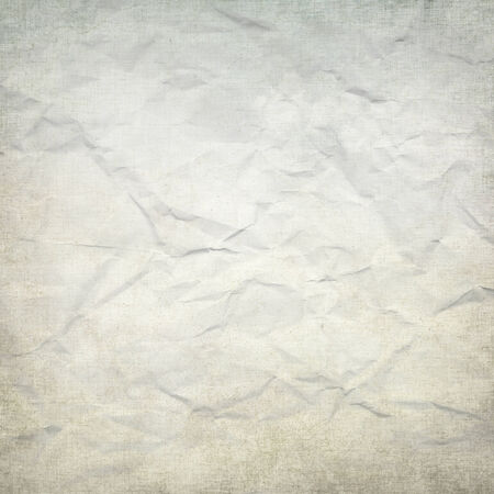 crumpled paper: bright background crumpled paper texture  Stock Photo
