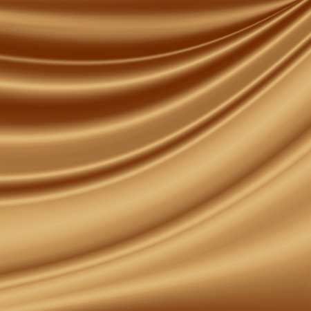 toffee: brown chocolate background for coffee advertising, smooth silk fabric texture