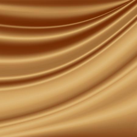 fondo chocolate: fondo marr�n para la publicidad de caf�, textura de la tela de seda lisa