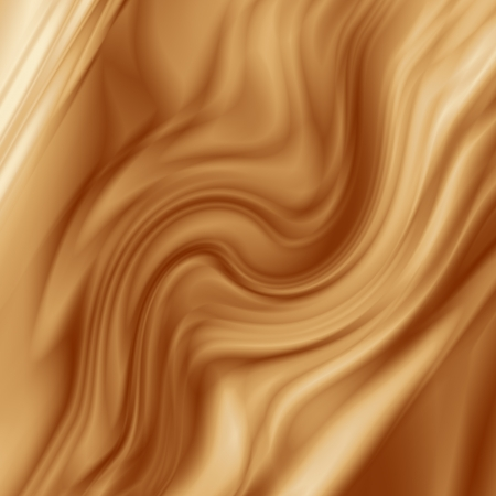 brown chocolate background for coffee advertising, smooth silk fabric texture photo