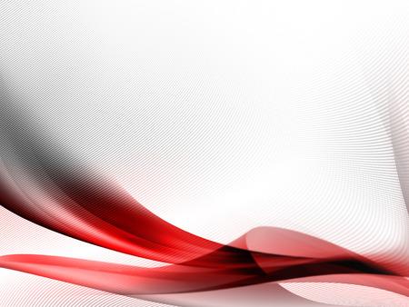 赤のストライプと微妙なグリッドのテクスチャ パターンと白の抽象的な背景