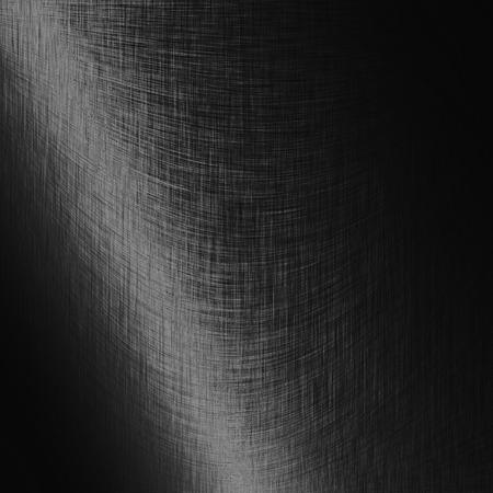 brushed metal background: black background brushed metal texture grid pattern Stock Photo