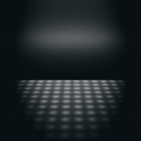 black metal wall texture scene with subtle beam of light advertising background photo