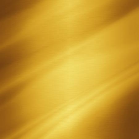 hoja en blanco: textura de metal de oro Foto de archivo