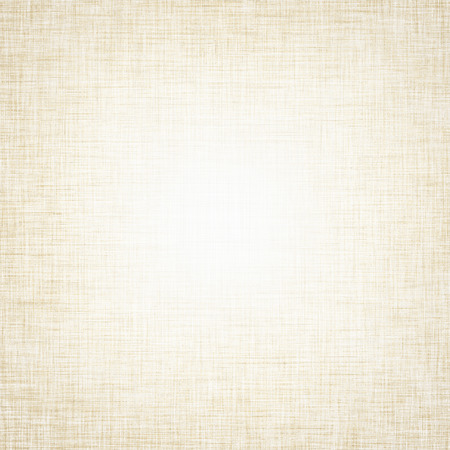 grid paper: vintage bright canvas texture and delicate beige vignette Stock Photo