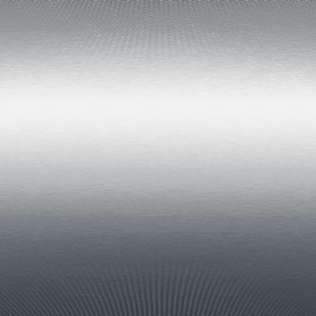 alluminum: silver chrome metal texture Stock Photo