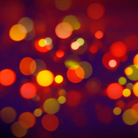 red abstract background bokeh lights photo