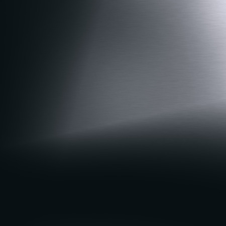 blackboard background metal texture and beam of light Stock Photo
