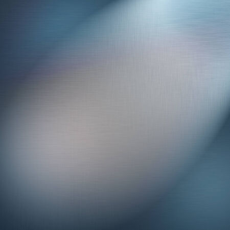 streak plate: blue metallic background texture and beam of spot light Stock Photo