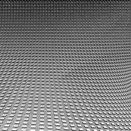 silver background metal texture and decorative grid pattern, glossy steel grain texture photo