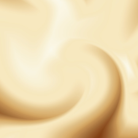 beige coffee background, cream or chocolate and milk swirl background Stock Photo